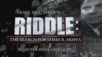 FOX Nation TV Spot, 'Riddle: The Search for James R. Hoffa' - Thumbnail 5