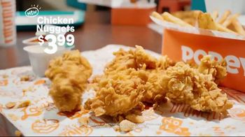 Popeyes Chicken Nuggets TV Spot, 'Bite Size' - Thumbnail 6
