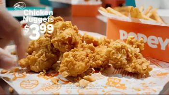Popeyes Chicken Nuggets TV Spot, 'Bite Size' - Thumbnail 5