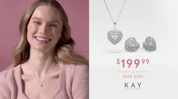 Kay Jewelers TV Spot, 'Valentine's Day: Give More Love: 25-50% Off' - Thumbnail 5