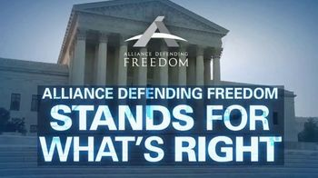 Alliance Defending Freedom TV Spot, 'Stand for Freedom' - 58 commercial airings
