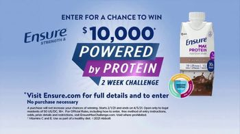 Ensure Max Protein TV Spot, 'Powered by Protein Challenge' - Thumbnail 7