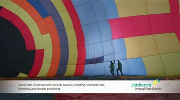 Jardiance TV Spot, 'Hot Air Balloon: Savings Card'