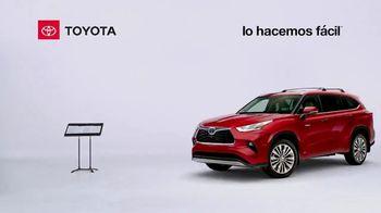 2021 Toyota Highlander Hybrid TV Spot, 'Director de orquesta' [Spanish] [T2] - Thumbnail 1