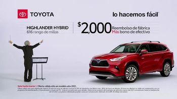 2021 Toyota Highlander Hybrid TV Spot, 'Director de orquesta' [Spanish] [T2] - Thumbnail 7
