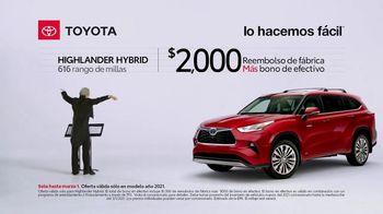 2021 Toyota Highlander Hybrid TV Spot, 'Director de orquesta' [Spanish] [T2] - Thumbnail 5