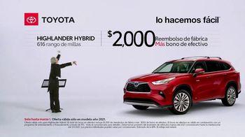 2021 Toyota Highlander Hybrid TV Spot, 'Director de orquesta' [Spanish] [T2] - Thumbnail 6