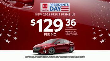 Toyota TV Spot, 'Presidents Day: Dear Wallet: Prius Prime' [T2] - Thumbnail 5