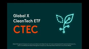 Global X Funds CTEC TV Spot, 'CleanTech ETF'