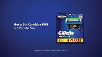 Gillette ProGlide TV Spot, 'Ready Every Day: 5th Cartridge Free' - Thumbnail 10