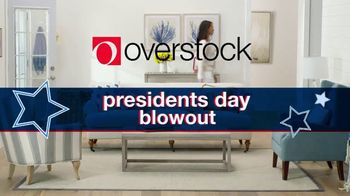 Overstock.com Presidents Day Blowout TV Spot, '70% Off Select Items Plus Free Shipping Storewide' - Thumbnail 2