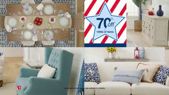 Overstock.com Presidents Day Blowout TV Spot, '70% Off Select Items Plus Free Shipping Storewide' - Thumbnail 4