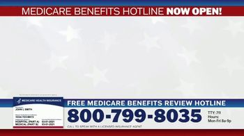 Medicare Benefits Hotline TV Spot, 'Attention: New Year: 2021 Benefits' - Thumbnail 1