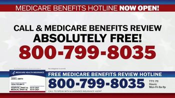 Medicare Benefits Hotline TV Spot, 'Attention: New Year: 2021 Benefits' - Thumbnail 10