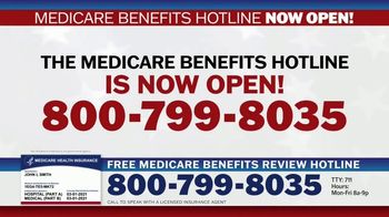 Medicare Benefits Hotline TV Spot, 'Attention: New Year: 2021 Benefits' - Thumbnail 3