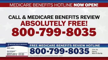Medicare Benefits Hotline TV Spot, 'Attention: New Year: 2021 Benefits' - Thumbnail 7