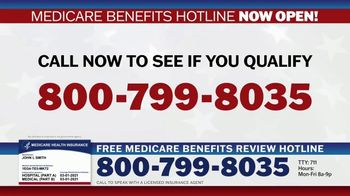 Medicare Benefits Hotline TV Spot, 'Attention: New Year: 2021 Benefits' - Thumbnail 8