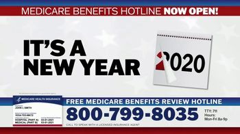 Medicare Benefits Hotline TV Spot, 'Attention: New Year: 2021 Benefits' - Thumbnail 9