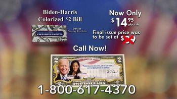 National Collector's Mint TV Spot, 'Biden-Harris Colorized $2 Bill' - Thumbnail 10