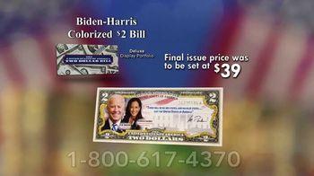 National Collector's Mint TV Spot, 'Biden-Harris Colorized $2 Bill' - Thumbnail 7