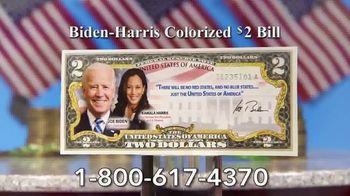 National Collector's Mint TV Spot, 'Biden-Harris Colorized $2 Bill' - Thumbnail 8