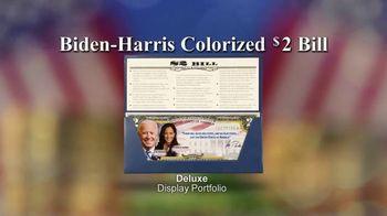 National Collector's Mint TV Spot, 'Biden-Harris Colorized $2 Bill' - Thumbnail 9