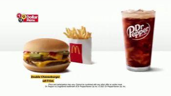 McDonald's $1 $2 $3 Dollar Menu TV Spot, 'The Here Comes
