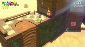 Nintendo Switch TV Spot, 'Cat Prints: Super Mario 3D World + Bowser's Fury' - Thumbnail 6