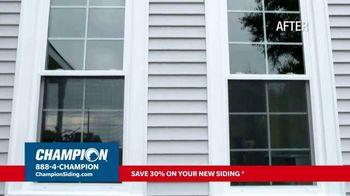 Champion Siding TV Spot, 'Transform Your Home: 30% Off Siding' - Thumbnail 3