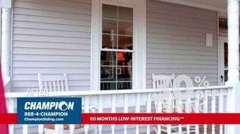 Champion Siding TV Spot, 'Transform Your Home: 30% Off Siding' - Thumbnail 5