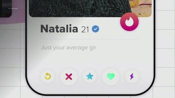 Tinder TV Spot, 'Put Yourself Out There: Natalia'