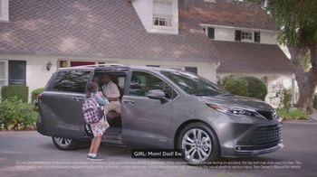 Toyota Sienna TV Spot, 'Can't Unsee That' [T1]