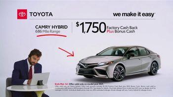 2021 Toyota Camry Hybrid TV Spot, 'Commentary: Camry Hybrid' [T2] - Thumbnail 2