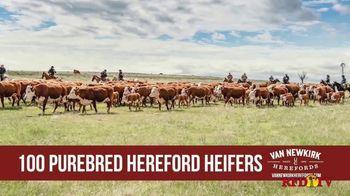 Van Newkirk Herefords TV Spot, '48th Annual Sale' - Thumbnail 4