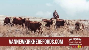 Van Newkirk Herefords TV Spot, '48th Annual Sale' - Thumbnail 5