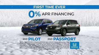 Honda TV Spot, 'A Message from Winter' [T2] - Thumbnail 4