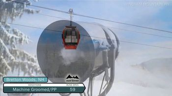 SnoCountry TV Spot, 'Snow Report: Feeling and Looking' - Thumbnail 4