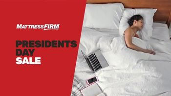 Mattress Firm Presidents Day Sale TV Spot, 'King for the Price of a Queen'