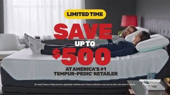 Mattress Firm Presidents Day Sale TV Spot, 'King for the Price of a Queen' - Thumbnail 6