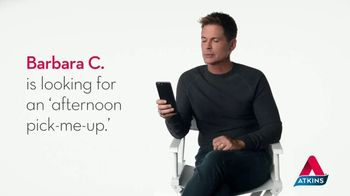 Atkins Iced Coffee Protein Shake TV Spot, 'Afternoon Pick-Me-Up' Featuring Rob Lowe