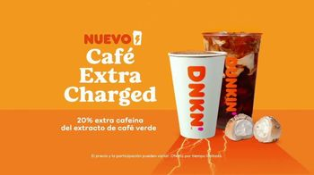 Dunkin' Cafe Extra Charged TV Spot, 'Ritmo' [Spanish] - Thumbnail 6