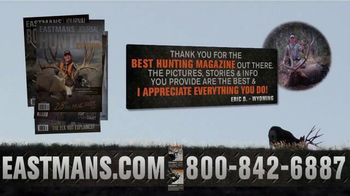 Eastmans' Hunting and Bowhunting Journals TV Spot, 'Six Big Issues for $24.99'