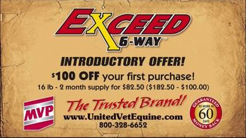United Vet Equine Exceed 6-Way TV Spot, 'Introductory Offer' - Thumbnail 6
