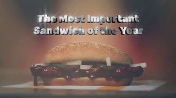 McDonald's McRib TV Spot, 'The Most Important Sandwich of the Year' - Thumbnail 10