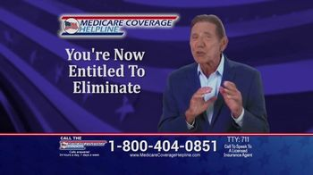 Medicare Coverage Helpline TV Spot, 'Eliminate Co-Pays' Featuring Joe Namath