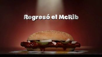 McDonald's McRib TV Spot, 'No Sauce Left Behind: regresó el McRib' [Spanish]
