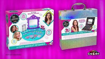 Be Inspired Ultimate Makeup Designer and Glitter Makeover Studio TV Spot, 'Ultimate' - Thumbnail 9