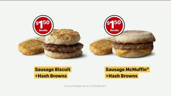 McDonald's TV Spot, 'Breakfast Stampede: Sausage Biscuit or Sausage McMuffin With Hash Browns' - Thumbnail 10