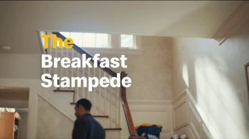 McDonald's TV Spot, 'Breakfast Stampede: Sausage Biscuit or Sausage McMuffin With Hash Browns' - Thumbnail 6