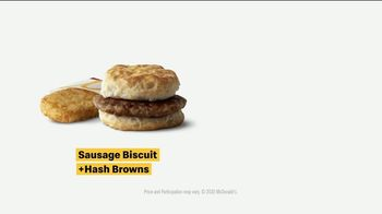 McDonald's TV Spot, 'Breakfast Stampede: Sausage Biscuit or Sausage McMuffin With Hash Browns' - Thumbnail 8